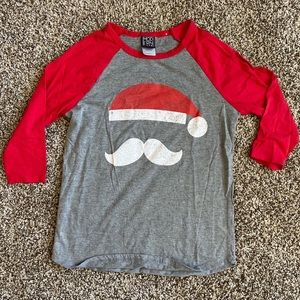 Modern Lux Santa graphic tee SMALL